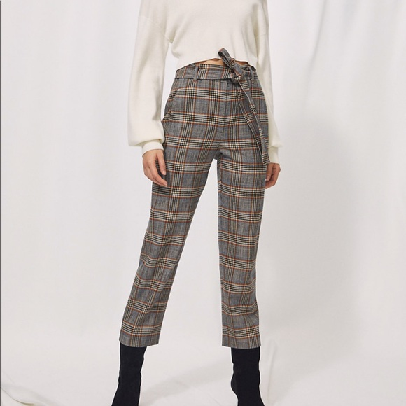 Aritzia new tie-front pant